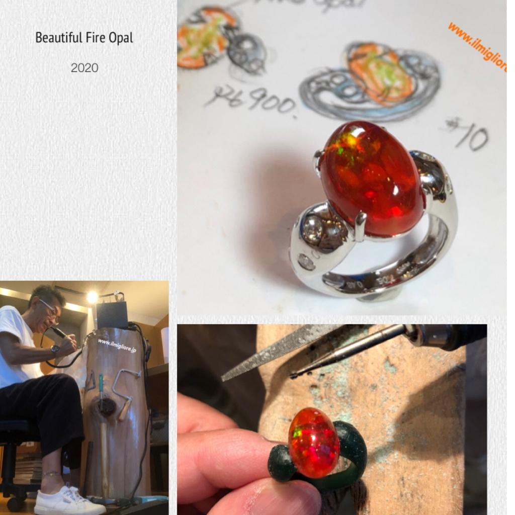 Beautiful Fire Opal